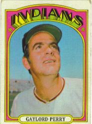1972 Topps Baseball Cards      285     Gaylord Perry
